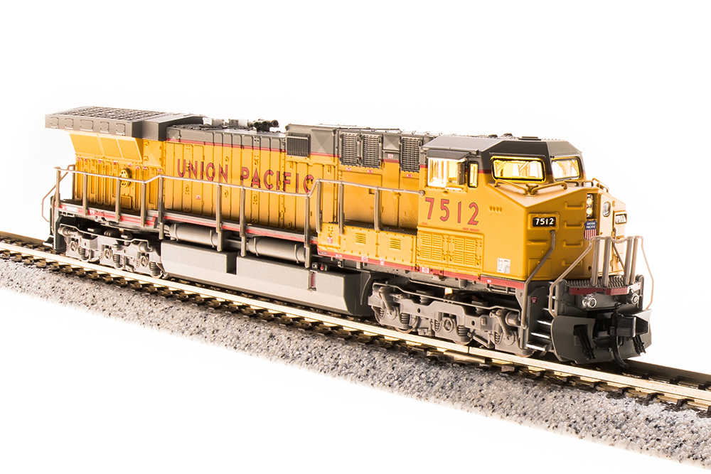 N Scale - Broadway Limited - 3752 - Locomotive, Diesel, GE AC6000CW - Union Pacific - 7545