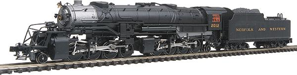 N Scale - Walthers - 920-90113 - Locomotive, Steam, 2-8-8-2 USRA - Norfolk & Western - 2019
