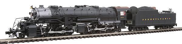 N Scale - Walthers - 920-96104 - Locomotive, Steam, 2-8-8-2 USRA - Pennsylvania - 377