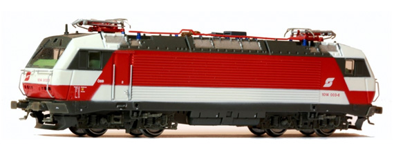 N Scale - Jägerndorfer - 65010 - Locomotive, Electric, Siemens BR 1014/1114 - ÖBB (Austrian Federal Railways) - 1014 003