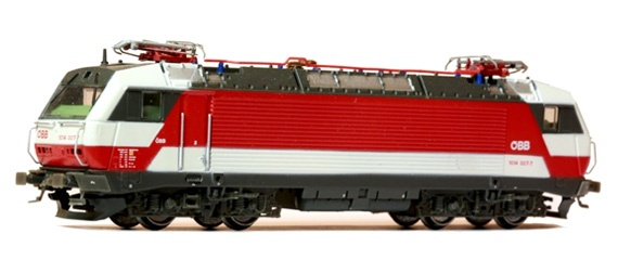 N Scale - Jägerndorfer - 65020 - Locomotive, Electric, Siemens BR 1014/1114 - ÖBB (Austrian Federal Railways) - 1014 007