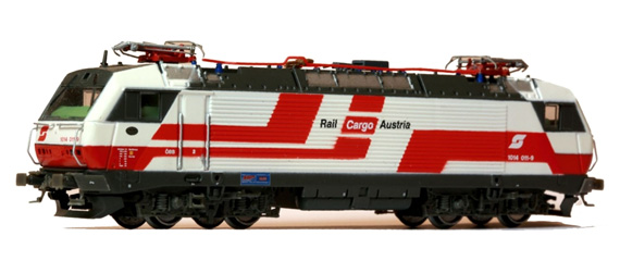 N Scale - Jägerndorfer - 65030 - Locomotive, Electric, Siemens BR 1014/1114 - ÖBB (Austrian Federal Railways) - 1014 011