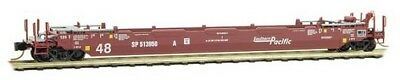 N Scale - Micro-Trains - 135 00 111 - Container Car, Single Well, Gunderson Husky Stack 48 - Southern Pacific - 513958A