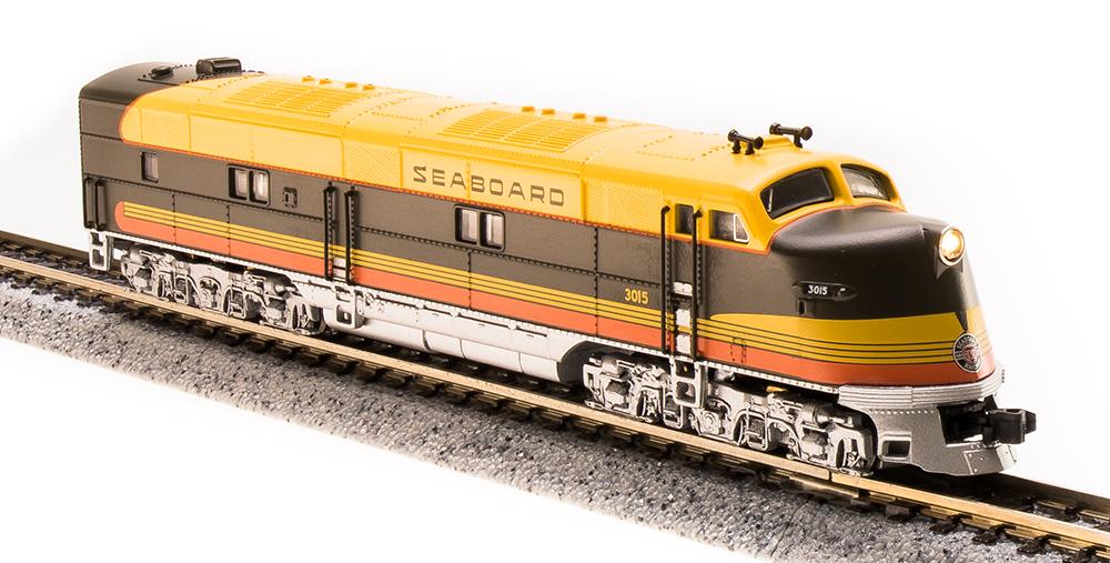N Scale - Broadway Limited - 3590 - Locomotive, Diesel, EMD E4 - Seaboard Air Line - 3015