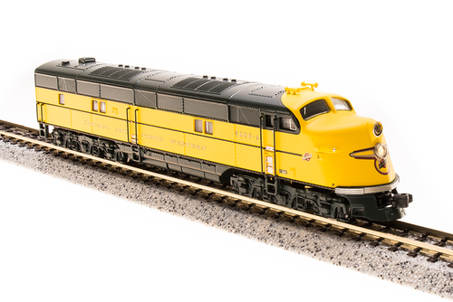 N Scale - Broadway Limited - 3588 - Locomotive, Diesel, EMD E6 - Chicago & North Western - 5006-A