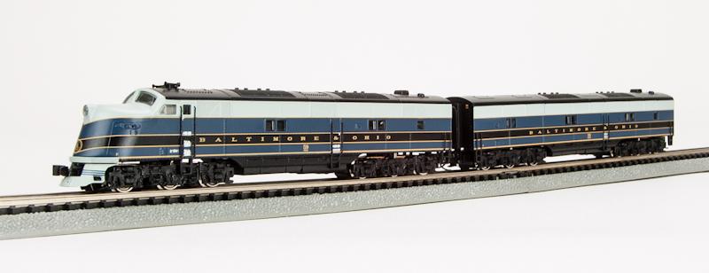 N Scale - Broadway Limited - 3586 - Locomotive, Diesel, EMD E6 - Baltimore & Ohio - 58