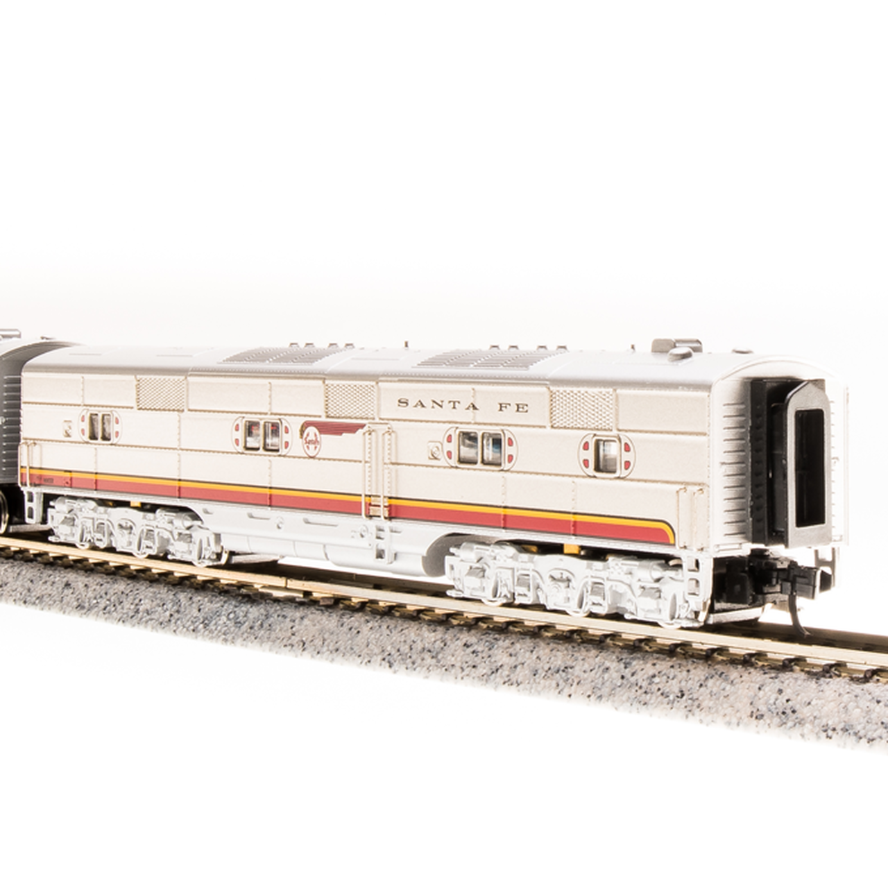 N Scale - Broadway Limited - 3584 - Locomotive, Diesel, EMD E6 - Santa Fe - 12A