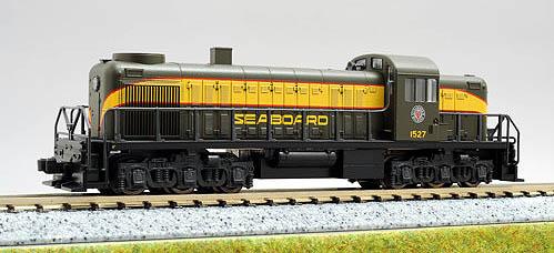 N Scale - Kato USA - 176-4304 - Locomotive, Diesel, Alco RSC-2 - Seaboard Air Line - 1527