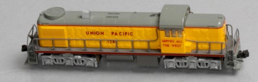 N Scale - Kato USA - 176-4306 - Locomotive, Diesel, Alco RSC-2 - Union Pacific - 1288