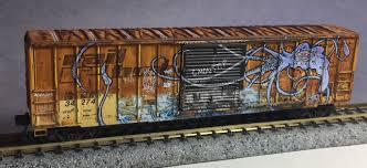 N Scale - Micro-Trains - 025 44 013 - Boxcar, 50 Foot, FMC, 5077 - RailBox - 34274