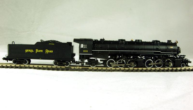 N Scale - Bachmann - 82654 - Engine, Steam, 2-6-6-2 Mallet - Nickel Plate Road - 941