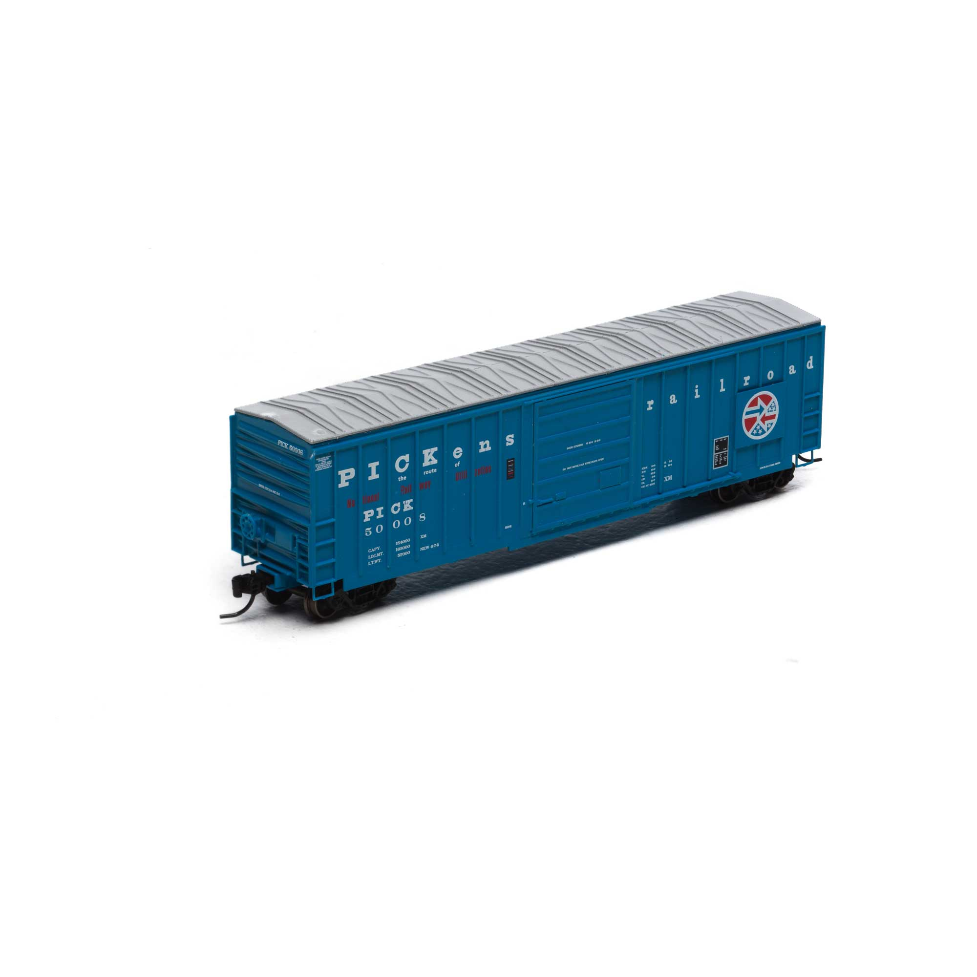 N Scale - Athearn - 22980 - Boxcar, 50 Foot, SIECO - Pickens - 50008