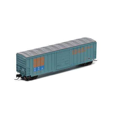 N Scale - Athearn - 22968 - Boxcar, 50 Foot, SIECO - Apalachicola Northern - 557028