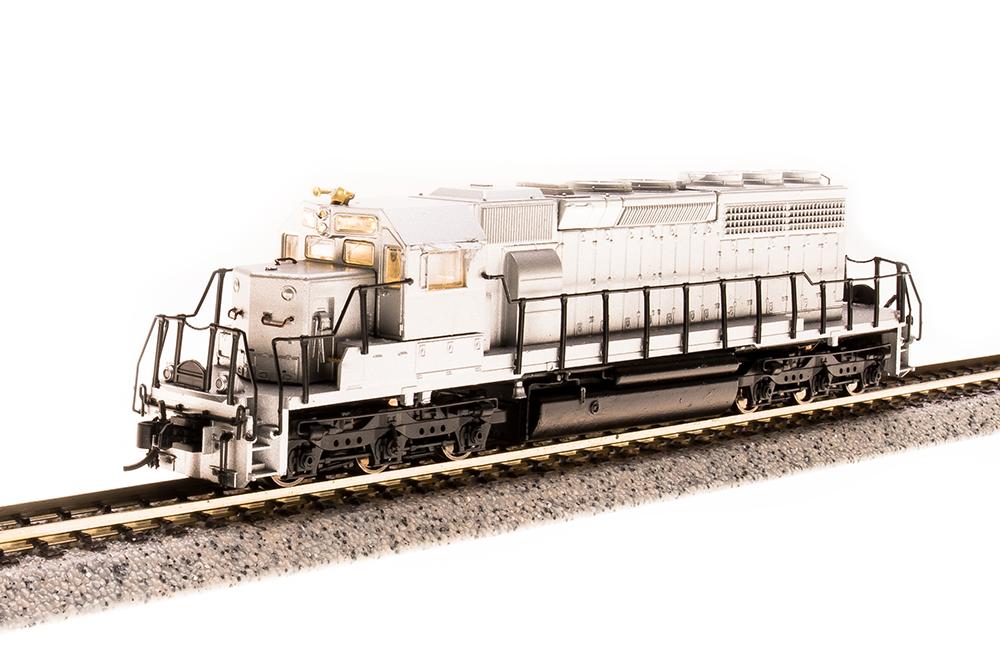 N Scale - Broadway Limited - 3717 - Locomotive, Diesel, EMD SD40-2 - Undecorated