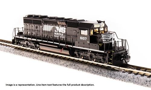 N Scale - Broadway Limited - 3714 - Locomotive, Diesel, EMD SD40-2 - Norfolk Southern - 6159