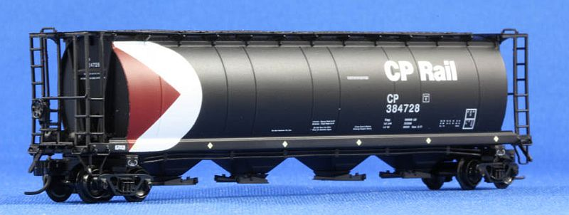 N Scale - North American Railcar - 11-10001004-03 - Covered Hopper, 4-Bay, Cylindrical HS 4550 - Canadian Pacific - 384554