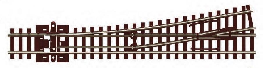 N Scale - Peco - SL-U396F - Track, Turnout, Unifrog, Medium - Track, N Scale