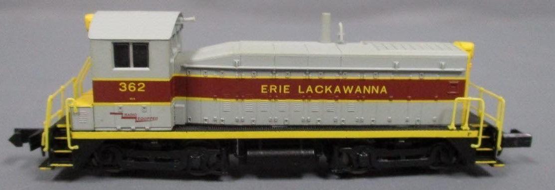 N Scale - Life-Like - 7948 - Locomotive, Diesel, EMD SW8 - Erie Lackawanna - 362