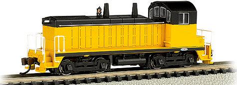N Scale - Bachmann - 61655 - Locomotive, Diesel, EMD NW2 - Painted/Unlettered
