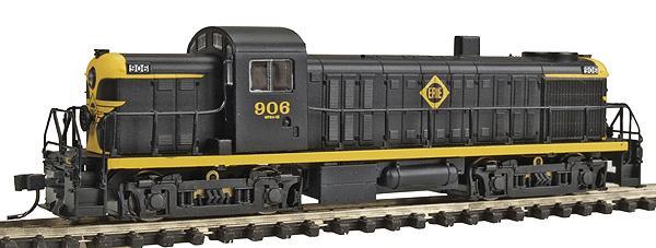 N Scale - Atlas - 40 004 608 - Locomotive, Diesel, Alco RS-2 - Frisco - 553