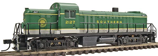 N Scale - Life-Like - 75115 - Locomotive, Diesel, Alco RS-2 - Southern - 2127