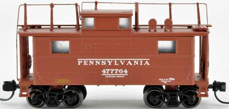 N Scale - Bowser - 37909 - Caboose, Cupola, Steel, NE - Pennsylvania - 477764