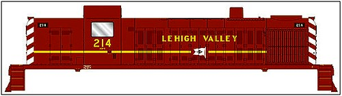 N Scale - Walthers - 929-50002 - Locomotive, Diesel, Alco RS-2 - Lehigh Valley - 218