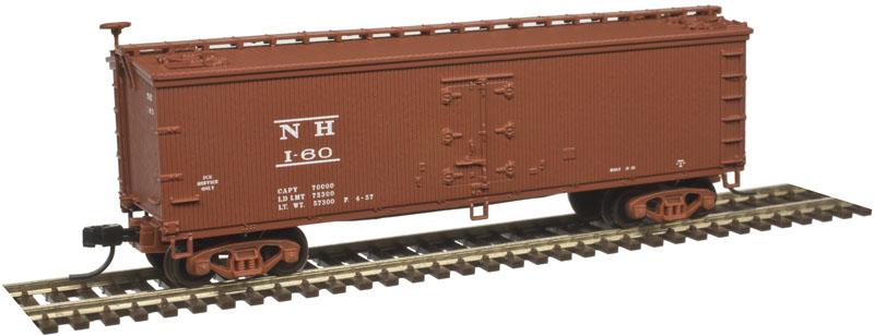 N Scale - Atlas - 50 003 891 - Reefer, Ice, Wood - New Haven - 60