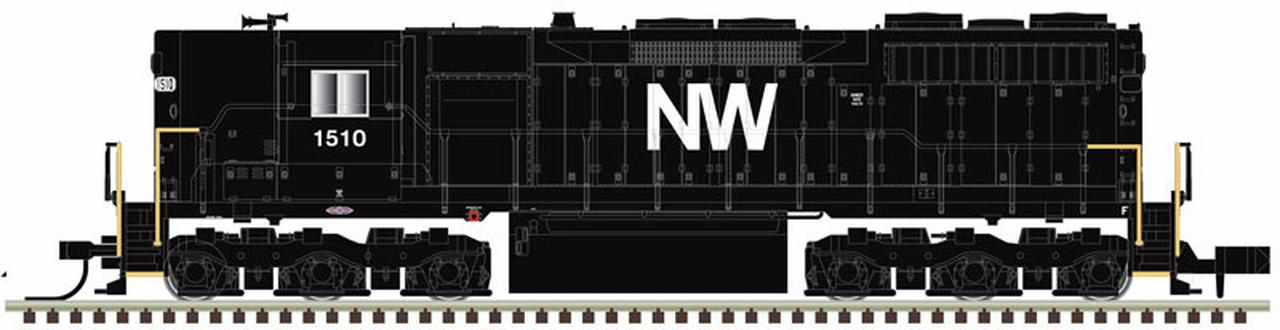 N Scale - Atlas -  40 003 746 - Locomotive, Diesel, EMD SD35 - Norfolk & Western - 1502