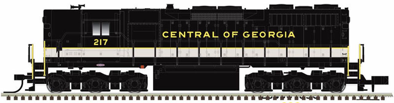 N Scale - Atlas -  40 003 745 - Locomotive, Diesel, EMD SD35 - Central of Georgia - 224