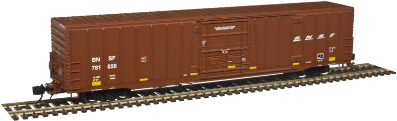 N Scale - Atlas - 50 003 900 - Boxcar, 62 Foot, BX-177 - Burlington Northern Santa Fe - 781276