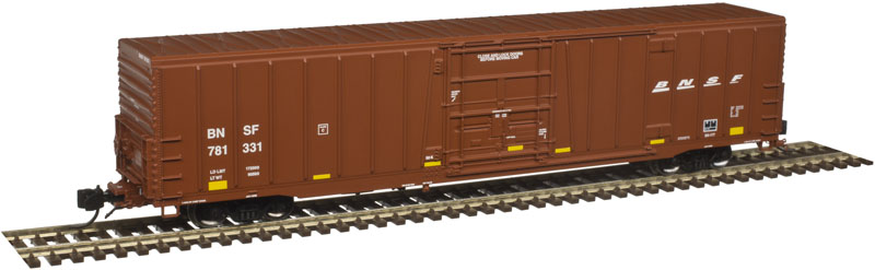 N Scale - Atlas - 50 003 905 - Boxcar, 62 Foot, BX-177 - Burlington Northern Santa Fe - 781422