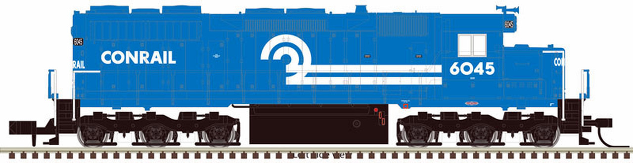 N Scale - Atlas -  40 003 710 - Locomotive, Diesel, EMD SD35 - Conrail - 6040