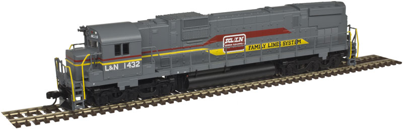 N Scale - Atlas - 40 003 584 - Locomotive, Diesel, Alco C-630 - Family Lines - 1432