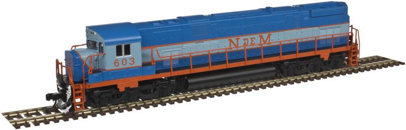 N Scale - Atlas - 40 003 576 - Locomotive, Diesel, Alco C-628 - Ferrocarriles Nacionales de México - 605