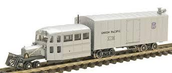 N Scale - Con-Cor - 0001-094176 - Railcar, Gasoline, Galloping Goose - Union Pacific - X-105
