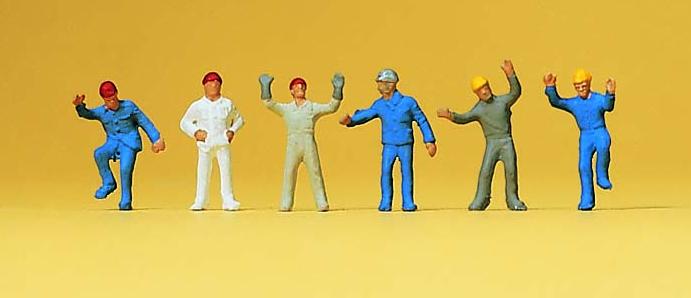 N Scale - Preiser - 79105 - People - People - Steeplejacks