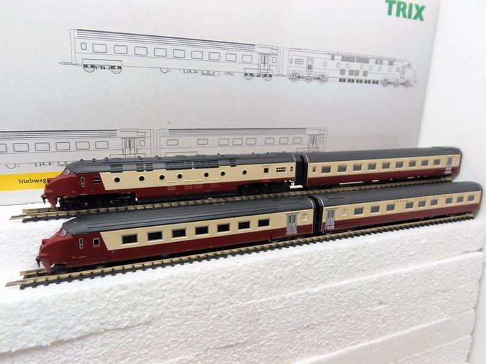 N Scale - Minitrix - 12224 - Passenger Train, Diesel, RAm TEE I - NS DE4 - SBB CFF FFS - 501