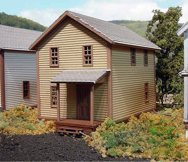 N Scale - Laser-Art - 805 - House - Residential Structures - 1