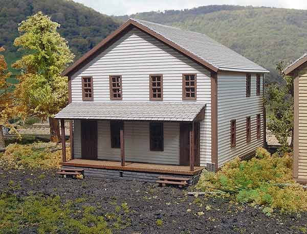 N Scale - Laser-Art - 807 - House - Residential Structures - 3