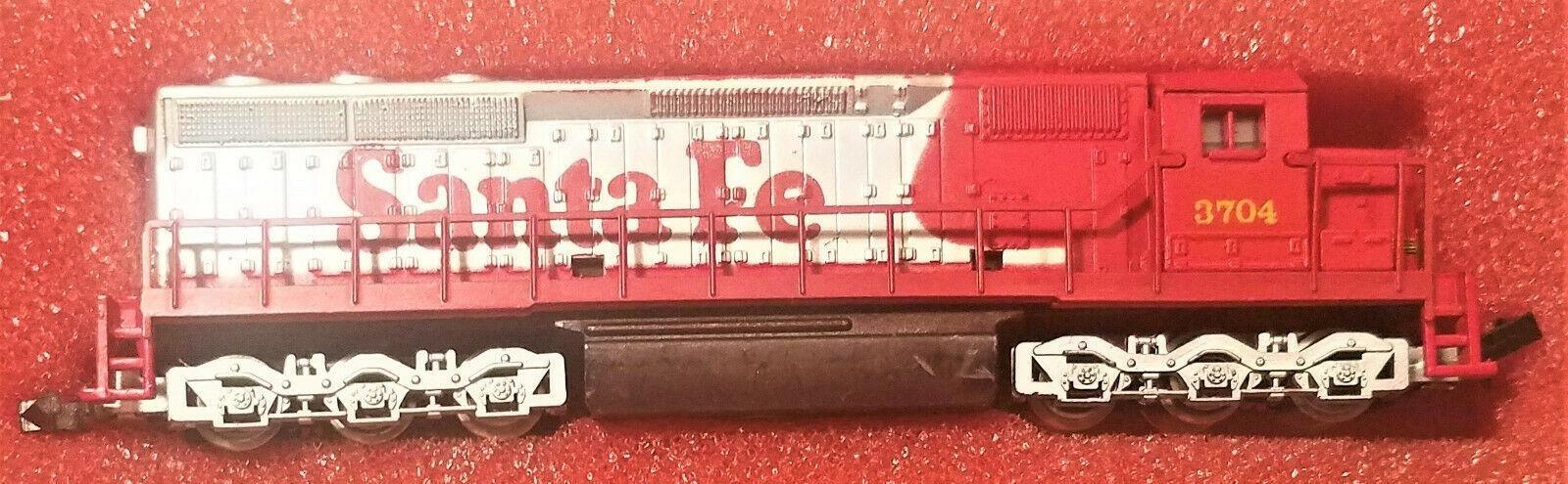 N Scale - Con-Cor - 0001-002202 - Locomotive, Diesel, EMD SD45 - Santa Fe - 3704