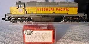 N Scale - Con-Cor - 0001-002614 - Locomotive, Diesel, EMD SD40-2 - Missouri Pacific - No #