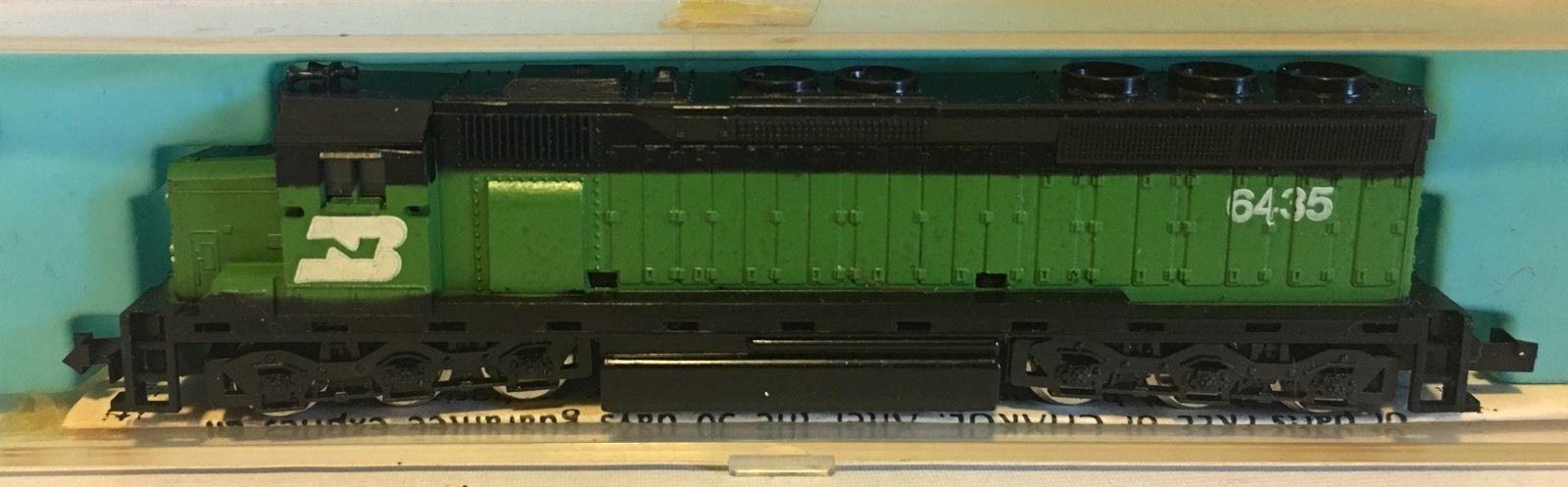 N Scale - Con-Cor - 2201-F - Locomotive, Diesel, EMD SD45 - Burlington Northern - 6435
