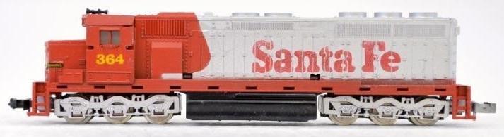 N Scale - Con-Cor - 2201-D - Locomotive, Diesel, EMD SD45 - Santa Fe - 364