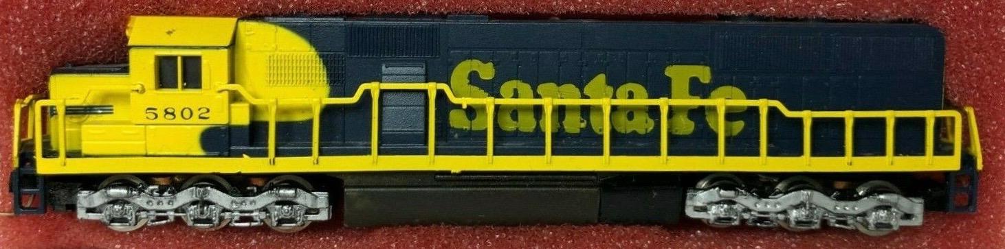 N Scale - Con-Cor - 0001-002655 - Locomotive, Diesel, EMD SD50 - Santa Fe - 5802