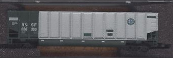 N Scale - Deluxe Innovations - 12180-6d - Gondola, Bathtub, Johnstown Twin Tub - Burlington Northern Santa Fe - 668359