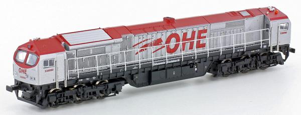 N Scale - Lemke - 58857 - Engine, Diesel, Bombardier DE-AC33C - OHE - 330090