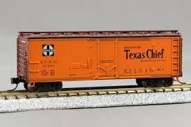 N Scale - Con-Cor - 0001-008851 (1)  - Reefer, Ice, Steel - Santa Fe - 31381