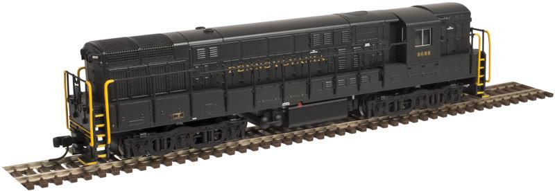N Scale - Atlas - 51612 - Locomotive, Diesel, Fairbanks Morse, H-24-66 Trainmaster - Pennsylvania - 6701