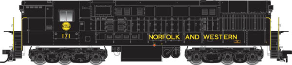 N Scale - Atlas - 51615 - Locomotive, Diesel, Fairbanks Morse, H-24-66 Trainmaster - Norfolk & Western - 170